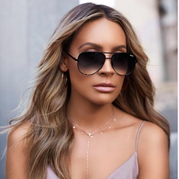 d15ba65a332 NWOT QuayxDesi High Key Mini Black Fade Sunglasses.  M 5b5c74c103087ce64821c166
